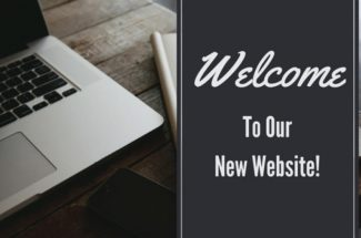 Thumbnail for the post titled: Welcome to our new Website!